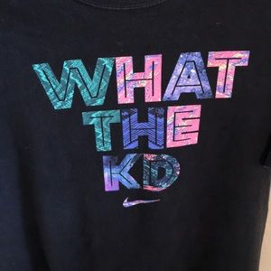 What The KD Nike T-shirt Size XL Kevin Durant